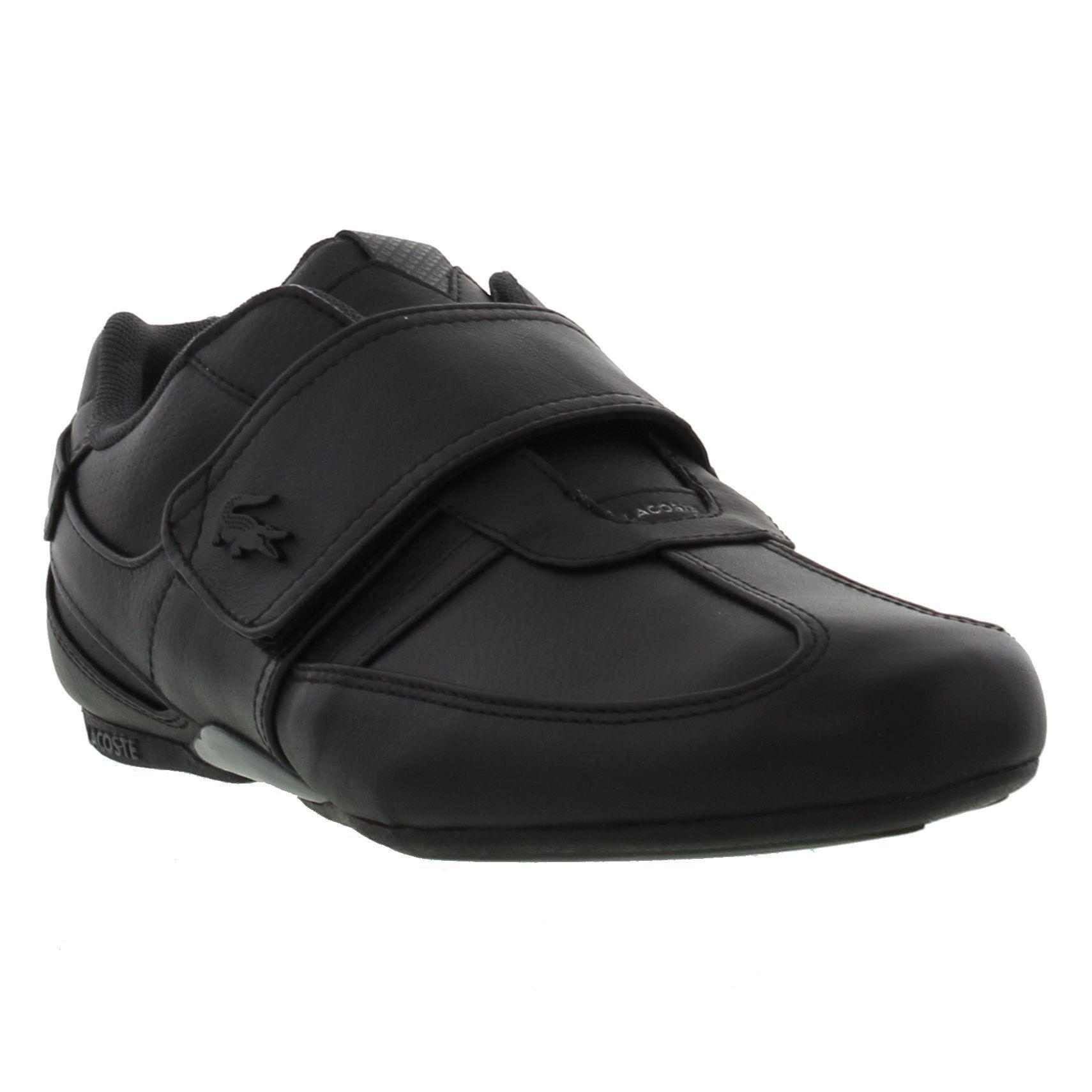 7a1c7eb6cbbb5e Lacoste Mens Protected PRM US SPM Trainers Black Black - £67.95 ...
