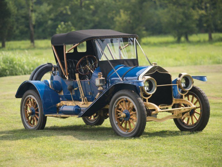 1911 National Model 40 Speedway Roadster Autos, Coches