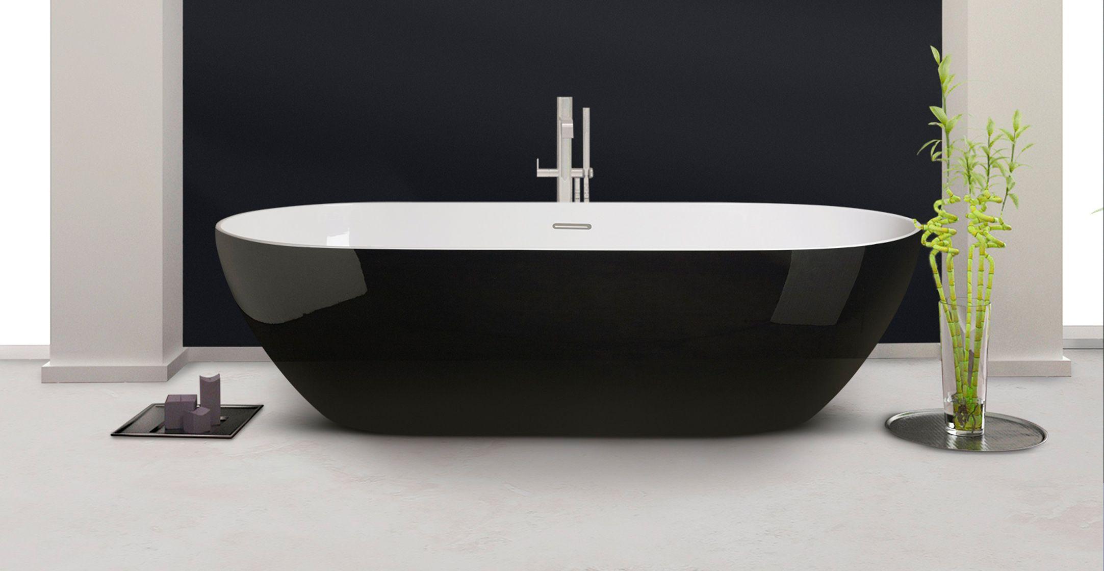 Moderne Freistehende Badewanne Von Aquamass Kollektion Access33 In Unserem Onlineshop Finden Sie Komplettes Angebot Der Aq Interessante Badewannen In 2019