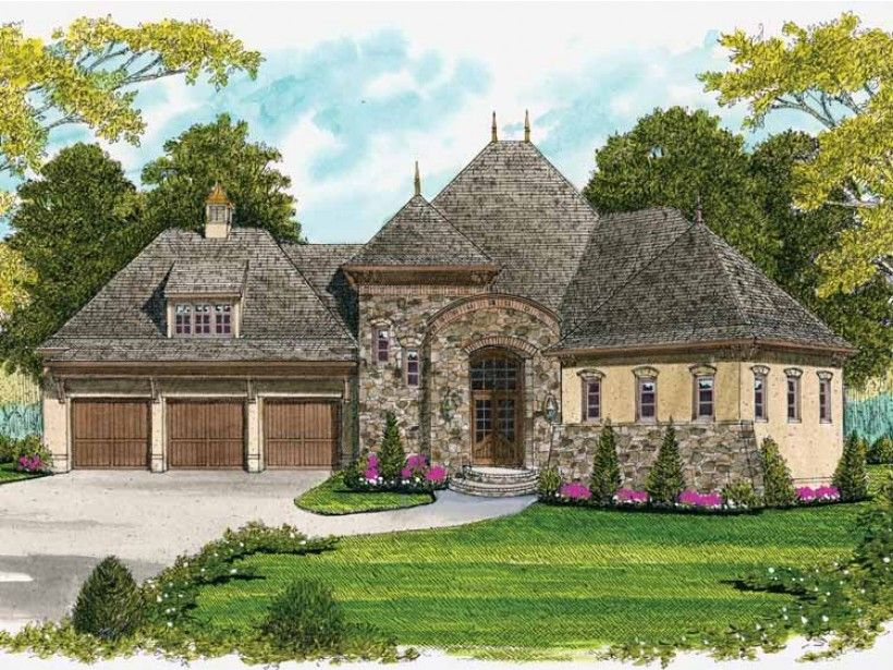 Build your ideal home with this Georgian house plan with 4 bedrooms(s), 3 bathroom(s), 2 story, and 3091 total square feet from Eplans exclusive assortment of house plans.