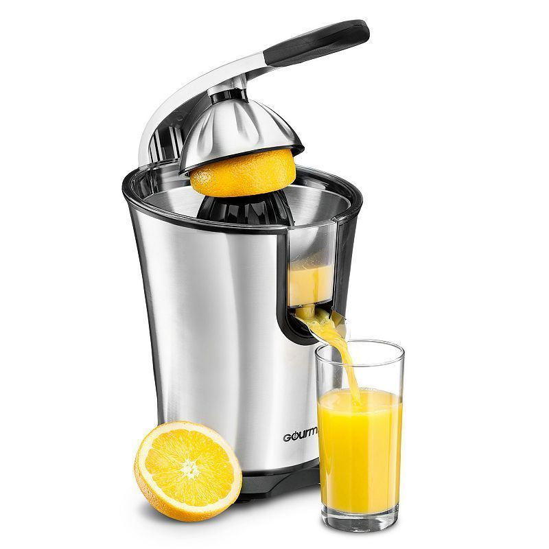 Gourmia 10 qt. Stainless Steel Citrus Press Juice Extractor