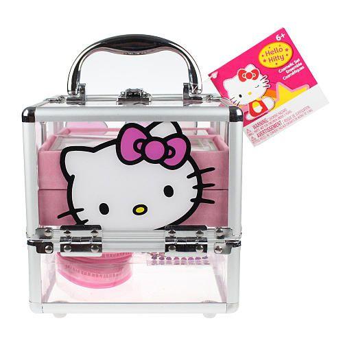 Чемодан с косметикой hello kitty купить косметика vov купить в интернет магазине