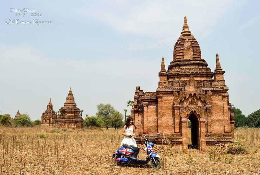 Instagram picutre by @debbycheah: Series of <寻找幸福的路上 Journey of Pursuit Happiness> #oldbagan #bagan #myanmar #burma #asia #backpack #travel #traveller #backpacker #travelgram #instatravel #ebike #journey #journeyofpursuithappiness #happiness #幸福 #debbycheah #shortvacation #pagoda #nikon #d5100 - Shop E-Bikes at ElectricBikeCity.com (Use coupon PINTEREST for 10% off!)