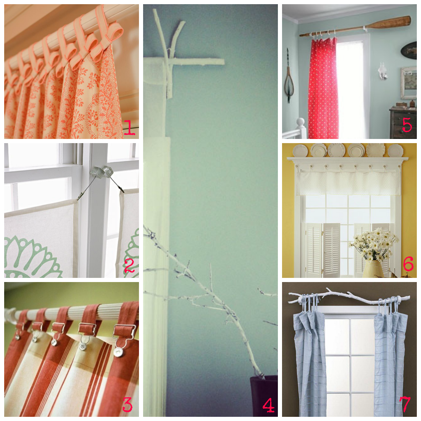 ideas y diy originales para decorar con cortinas