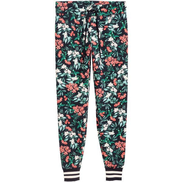 Patterned Joggers 4040 40 RON Found On Polyvore Featuring Gorgeous Patterned Joggers