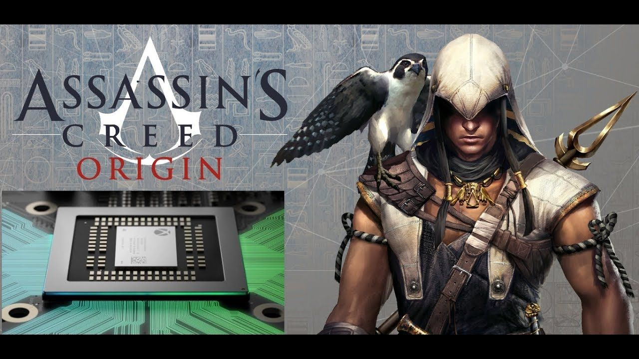 Assassin S Creed Origins In 4k On Xbox Scorpio Square Enix