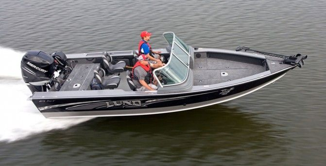 Lund 2175 Pro V Sport Review With Images Boat Aluminum