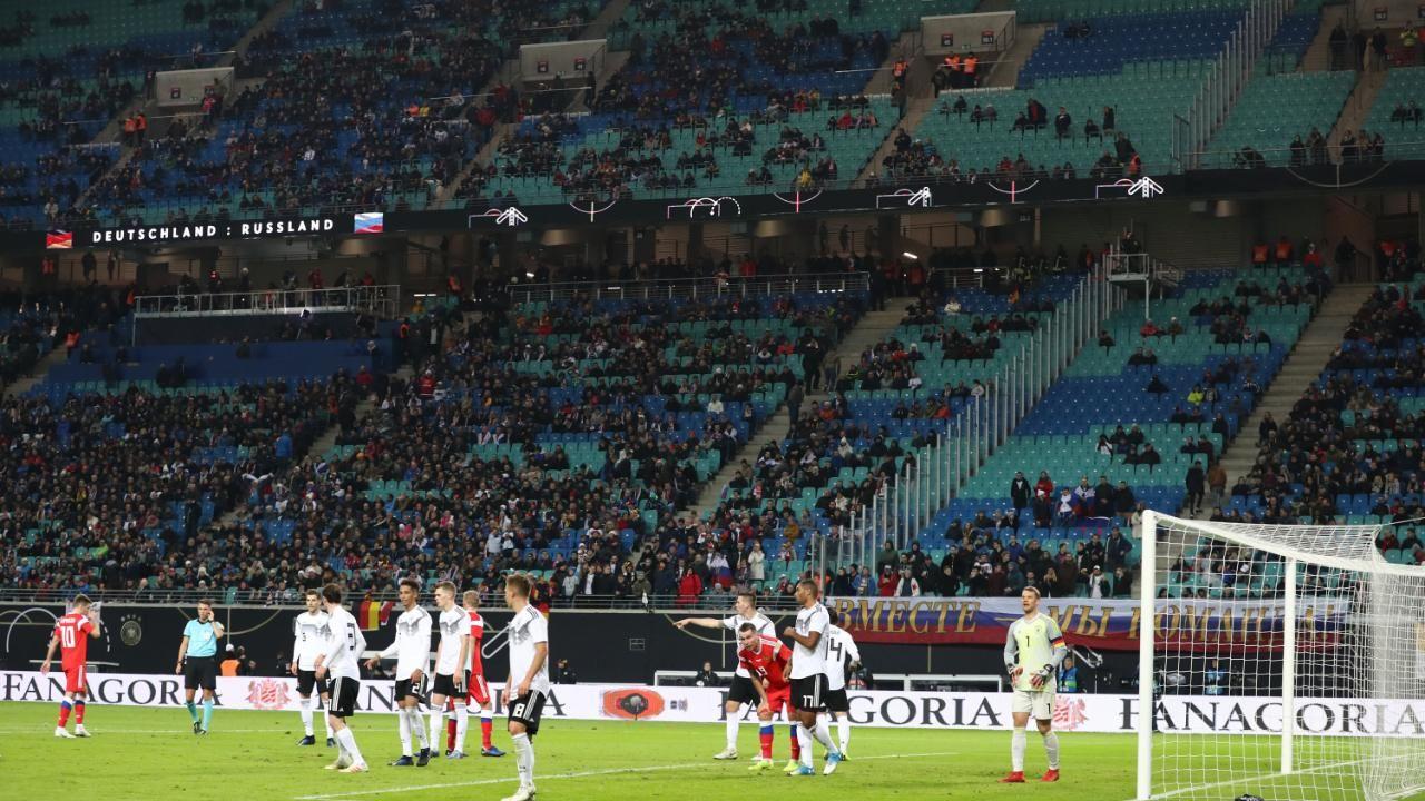 Deutschland Russland FuГџball