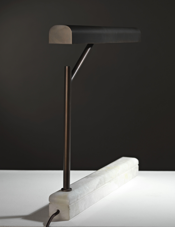 Jade table lamp burnished onyx base 灯具 table lamp lighting