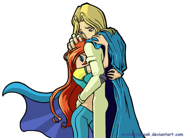 My favorite picuture of Winx Club - Sky and Bloom, how cute are this couple.