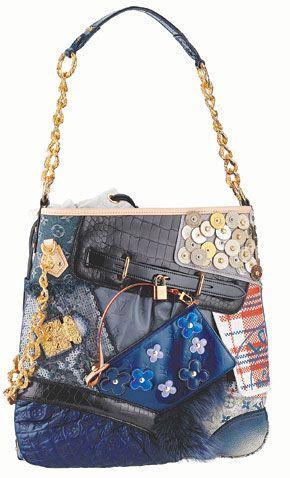 419602674dbf Louis Vuitton Limited Edition Signature Tribute Patchwork purse ...
