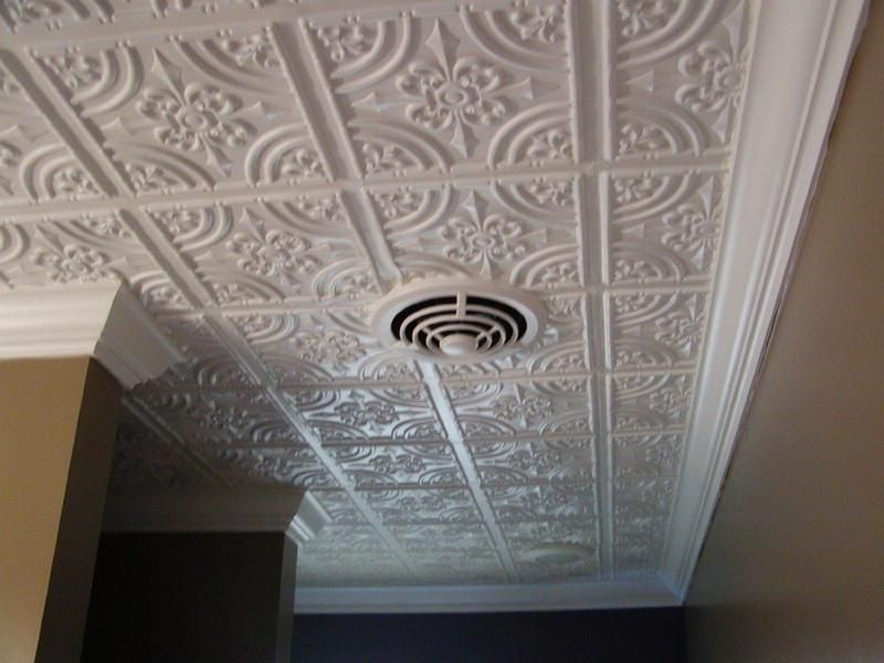Decorative Tin Ceiling Tiles Tin Ceiling Tiles Home Depot For Ceiling Decor Nice Tin Ceiling