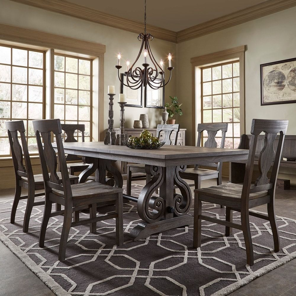 Rowyn Wood Extending Dining Table Set by iNSPIRE Q Artisan | Overstock.com  Shopping -