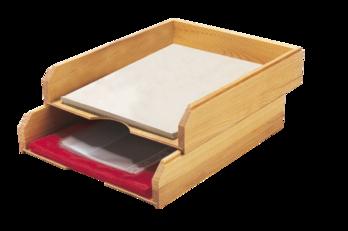 Trieur à courrieren bois huilé home : bureau pinterest bureaus