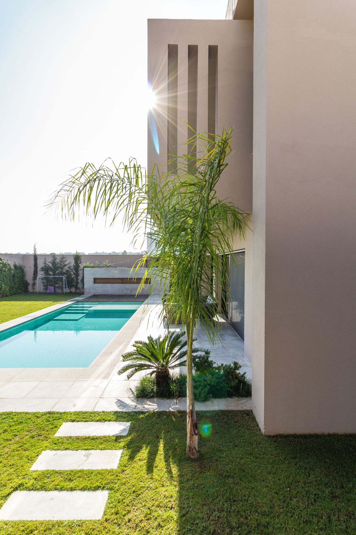 Villa Dougga, sculpture architecturale - IDEO