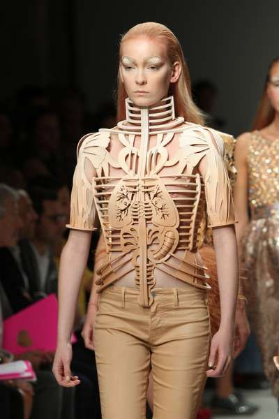 100 Examples of Medieval Fashion - From Armored Body Mods to Gothic Medieval Editorials
