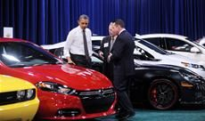 "Like many men, President Obama has fond memories of his first car -- even if it was a Ford Granada.  ""I have to confess; my first car was my grandfather's car,"" Obama told AAA in an interview. ""Which was a Ford Granada."""