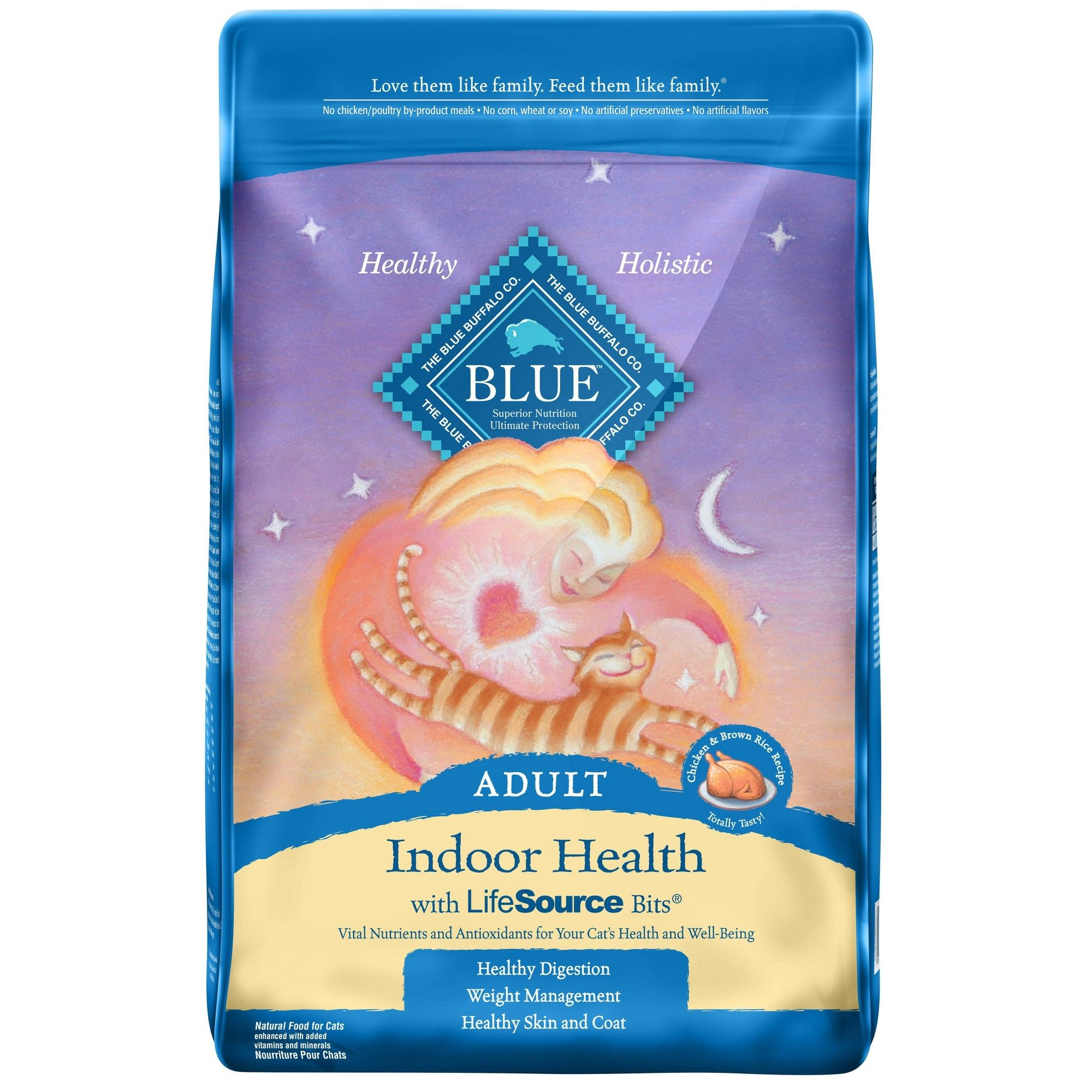 Blue Buffalo Indoor Health Adult Chicken & Brown Rice