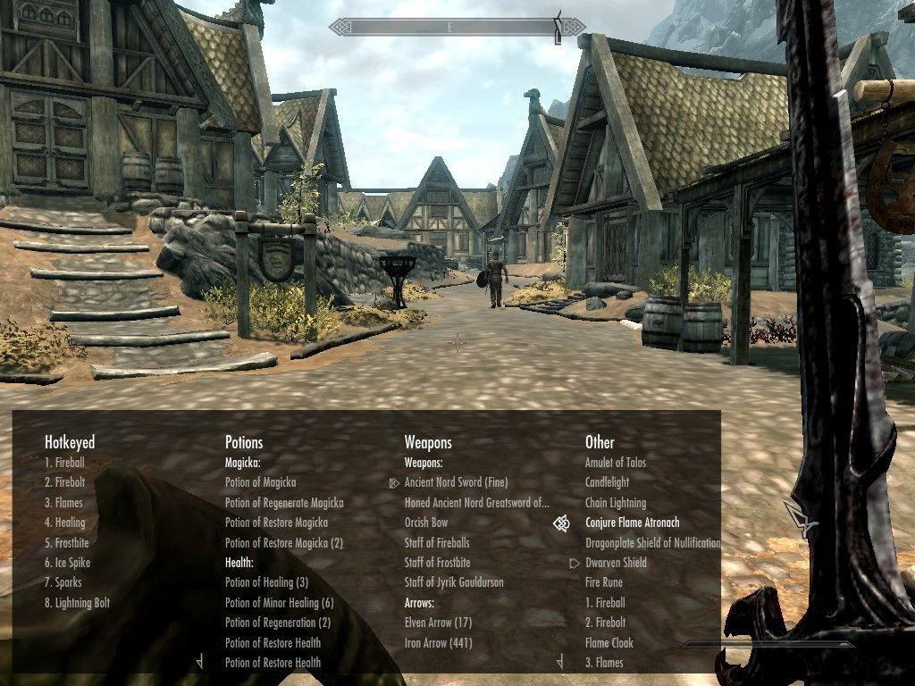 categorized favorites menu at skyrim nexus mods and community