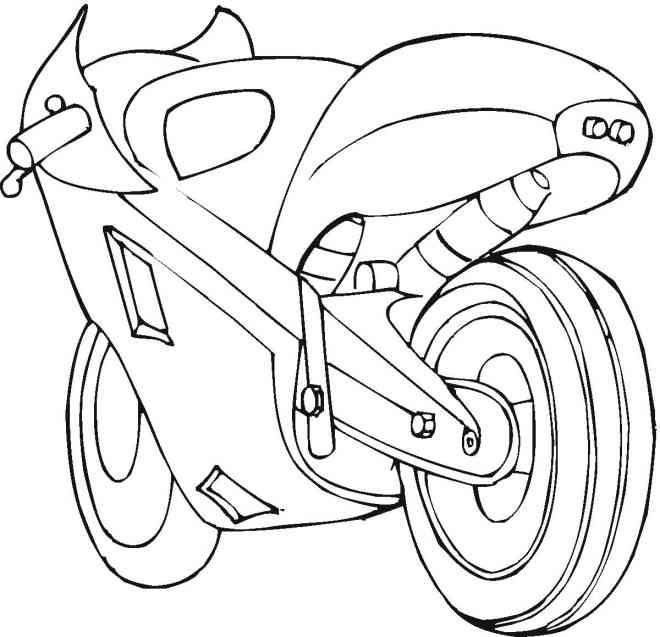 Tim Struppi 3 Gratis Malvorlage In Comic: Auto Motorrad 21 Ausmalbilder