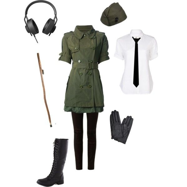 """Nyotalia Germany-Hetalia"" by conquistadorofsorts on Polyvore"