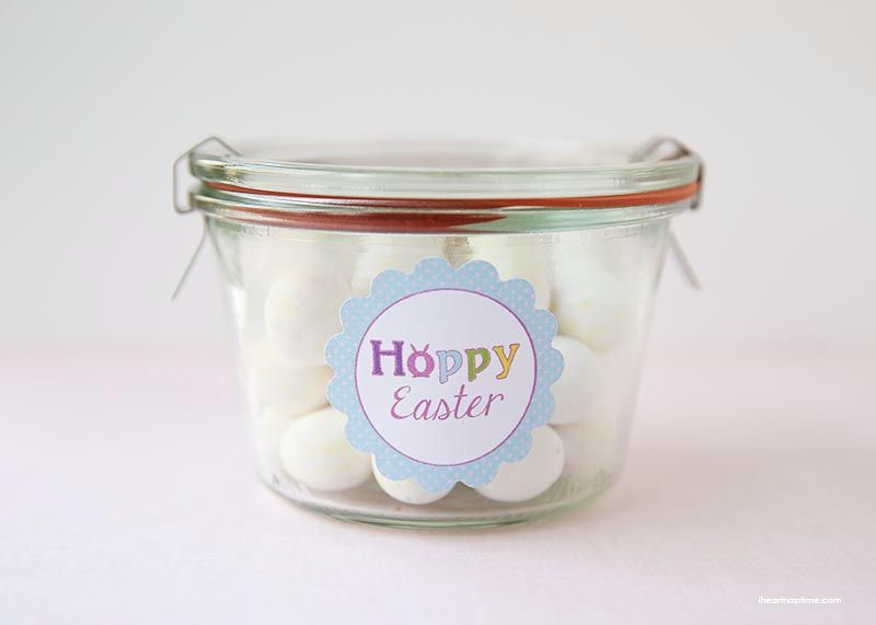 Free Hoppy Easter printable