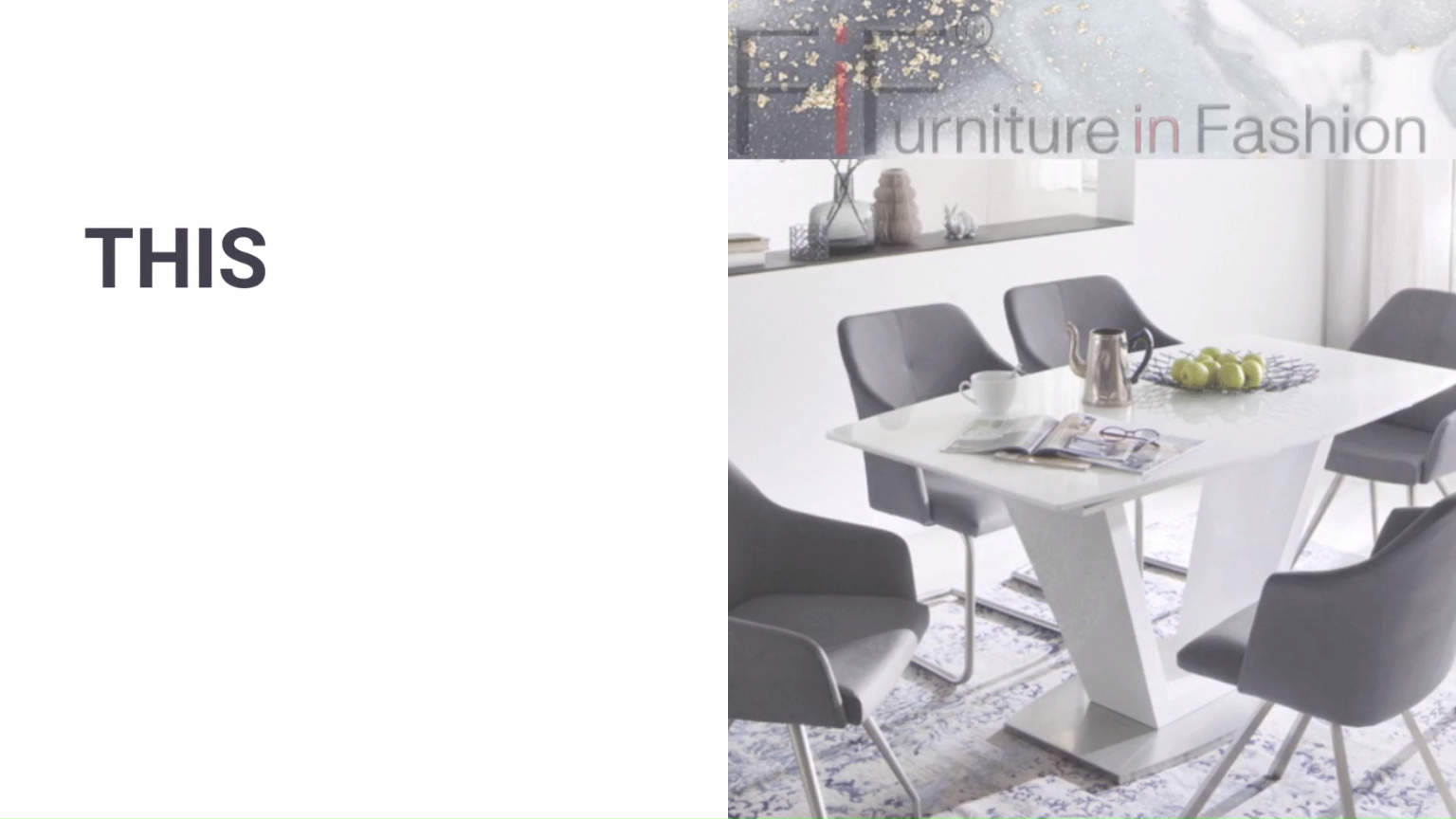 Black Friday Furniture Deals From Furniture In Fashion Dining Room