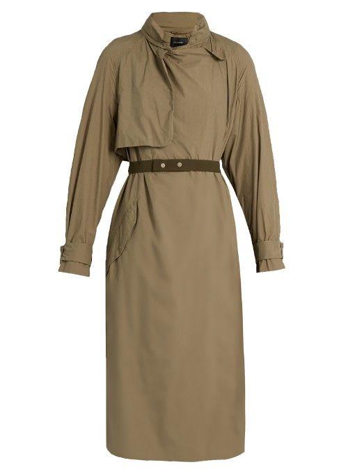 ISABEL MARANT Hooded Lightweight Parka Jacket. #isabelmarant #cloth #jacket