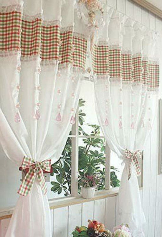 26 идей для пошива кухонных штор и занавесок — Мир ...