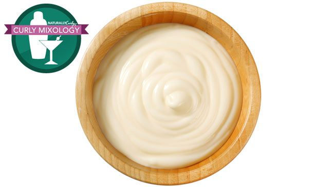 Curly mixology twist out cream #diy for unbelievable moisture ✨