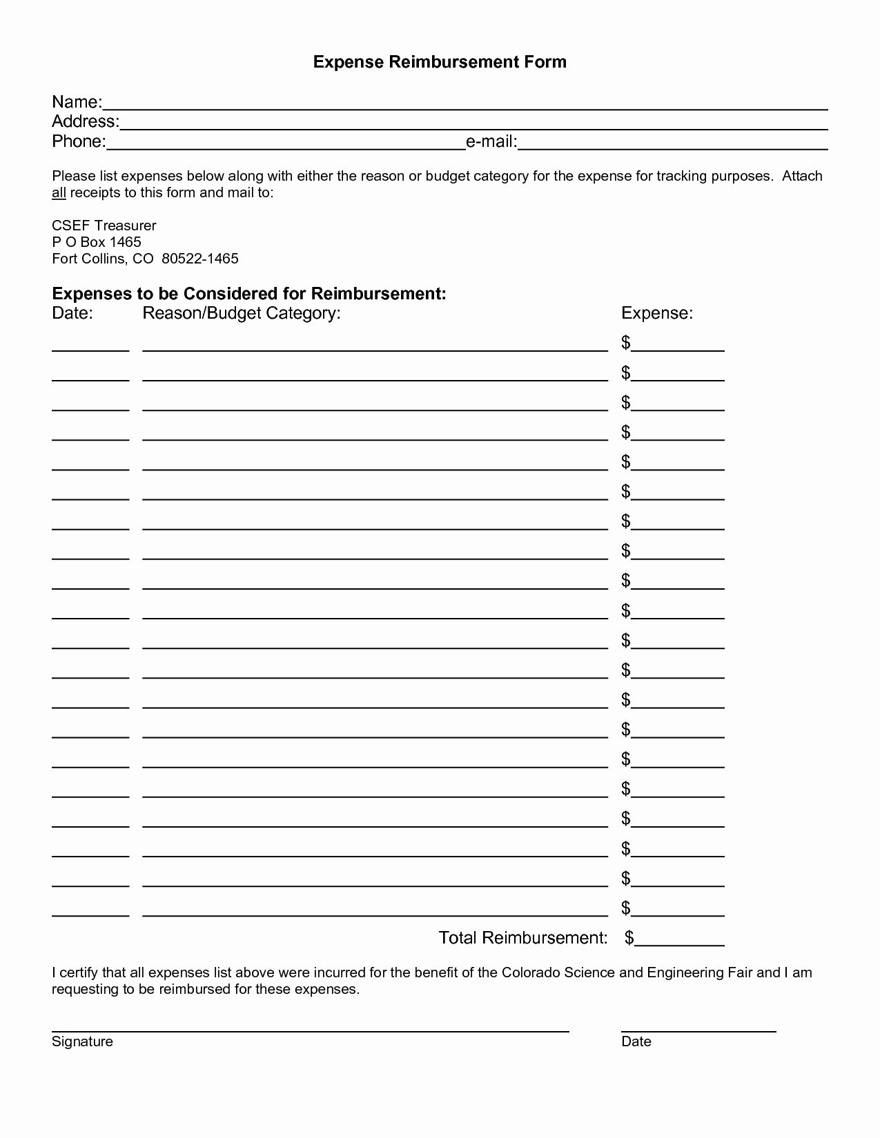 Expense Reimbursement Form Template Lovely Expense Reimbursement Template Portablegasgrillweber Templates Traveling By Yourself Poster Tutorial