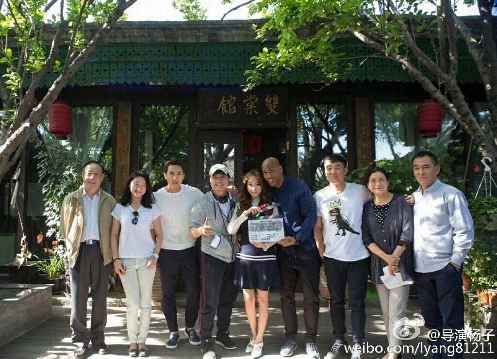 导演杨子 Weibo Update with Jessica Jung.