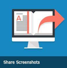 Share Screenshots