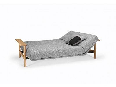 Nordic Styled Sofa Bed With A Comfortable Mattress Sleeper Sofa