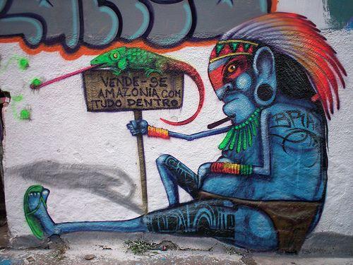 #Streetart by #Cranio #art #arte #graffiti #urbanart #Brasile