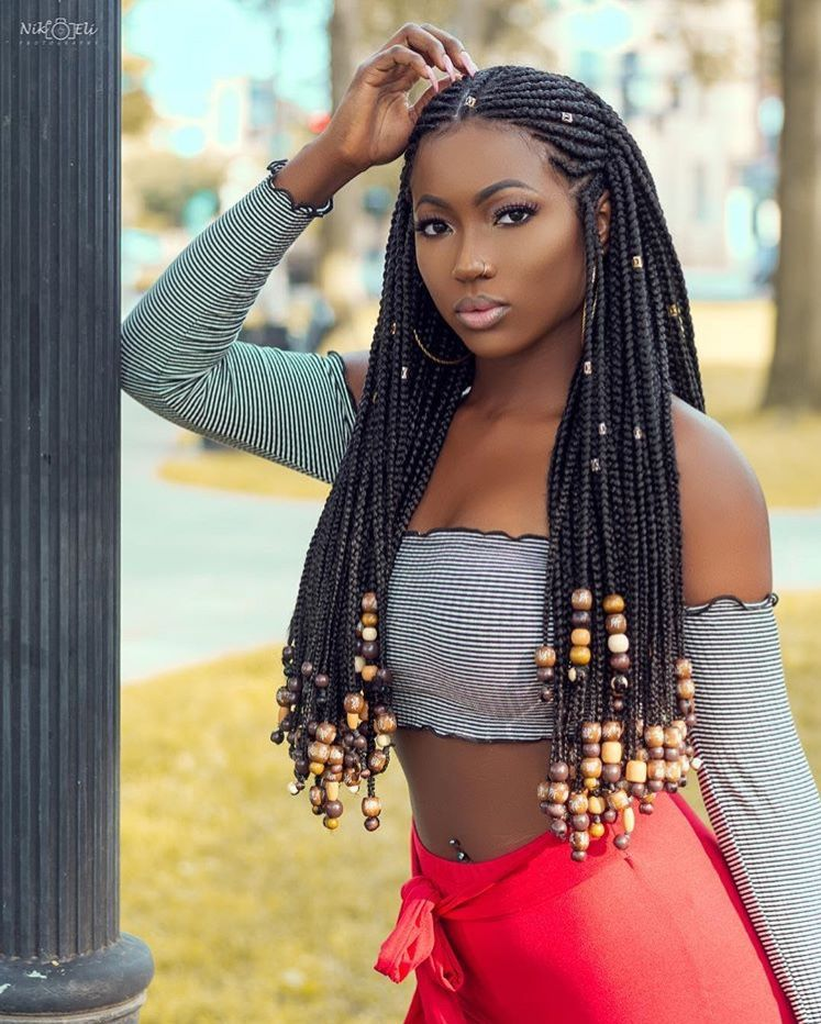 My Hairstyle For School 2018 In 2019 African Braids