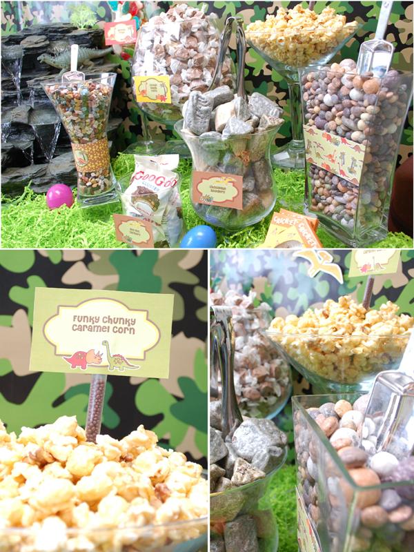 Diy Dinosaur Party Candy Buffet Diy Candy Buffet Baby Shower Candy Bar Baby Shower Candy Table