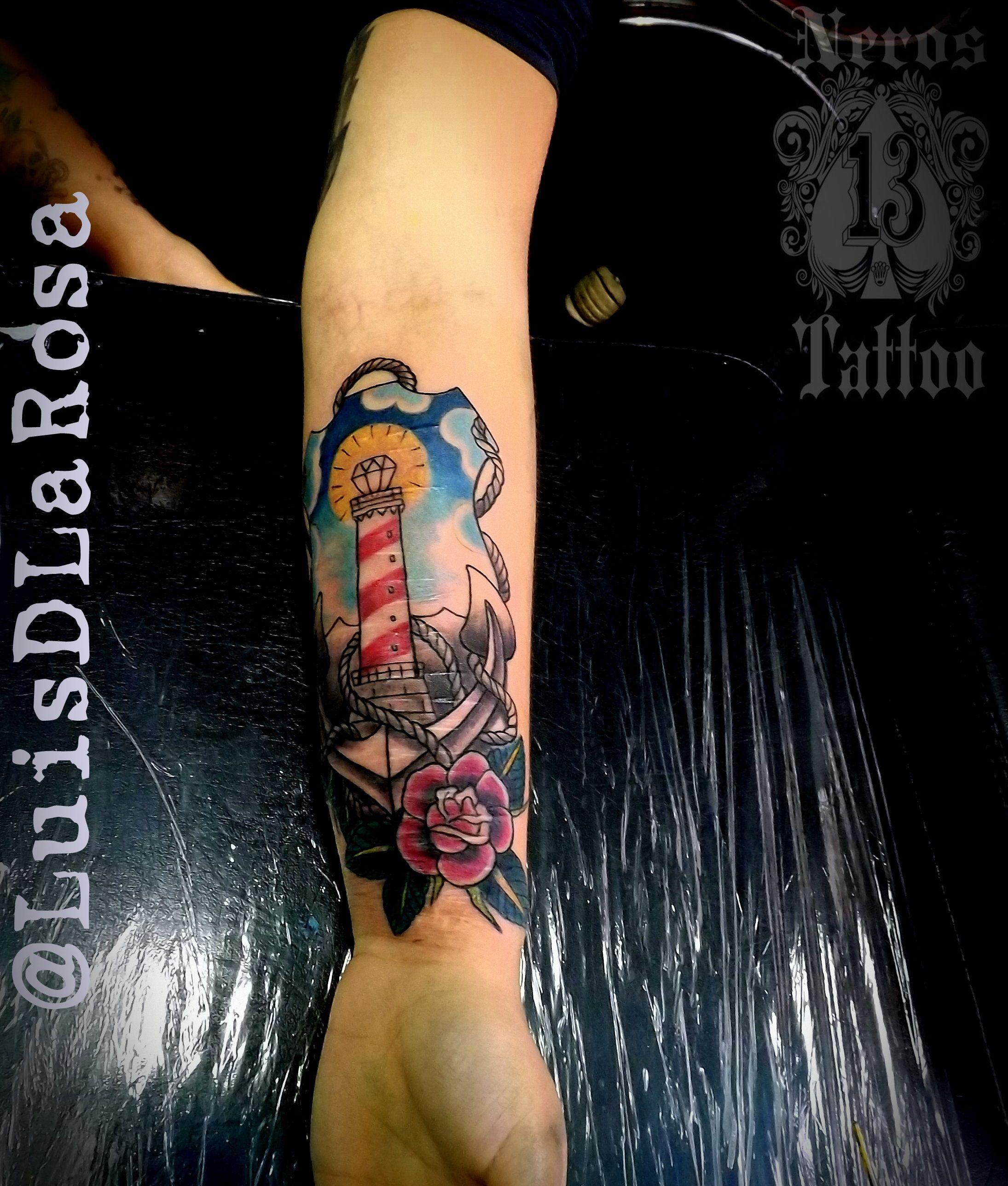 #anchortattoo #oldanchortattoo #tattooold #luisdlarosa #nerosttattoo 3perutattoo #tattoolife