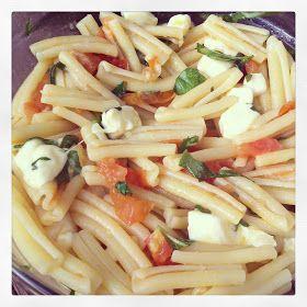 simply sweet justice: Pasta Alla Caprese