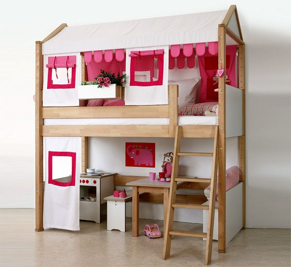 Lit Mezzanine Enfant Casa Rose Lit Mezzanine Enfant Lit