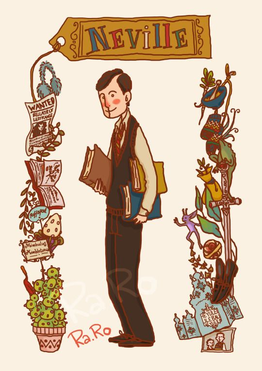 Neville by RaRo81#harrypotter #fanart | Harry potter | Harry