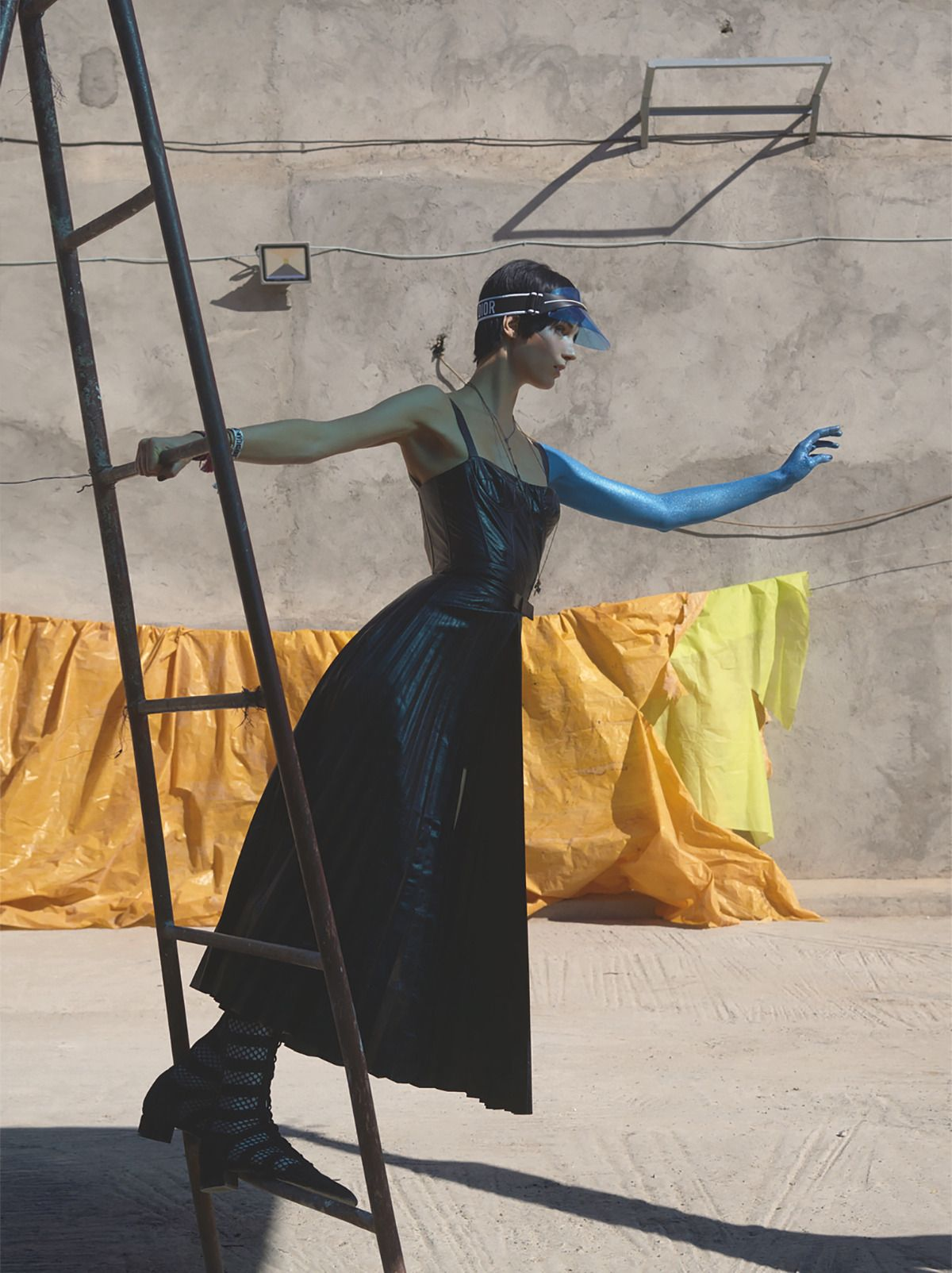 Overlay Intersection Publication: Vogue Italia February 2018 Model: Marte Mei, Sora Choi Photographer: Viviane Sassen Fashion Editor: Patti Wilson Hair: Irena Ruben Make Up: Irena Ruben