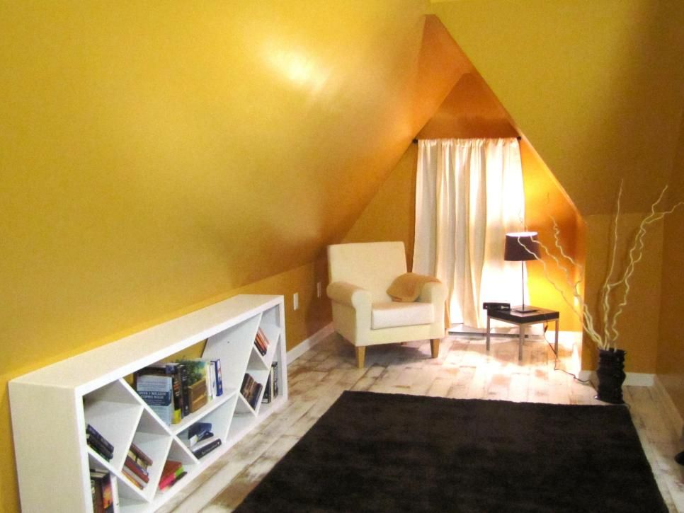 27 Amazing Attic Remodels | Attic, Guest room office and Diy network