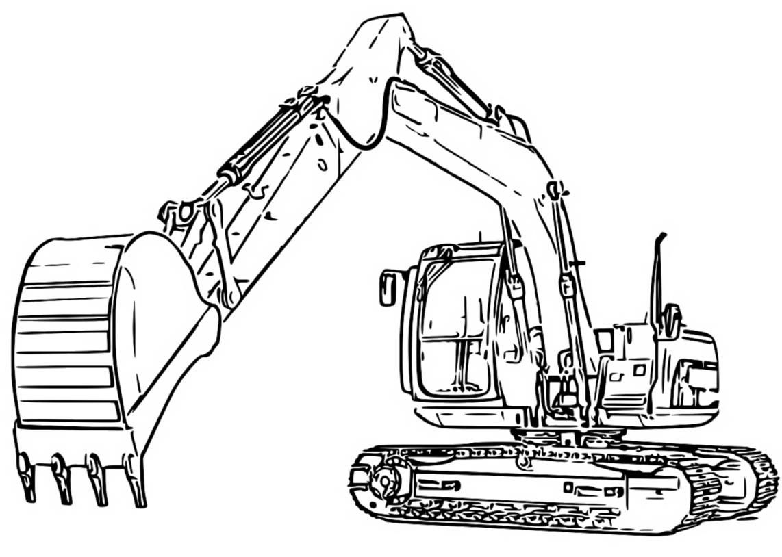 9 48 Excavator Coloring Pages Pokemon Coloring Pages