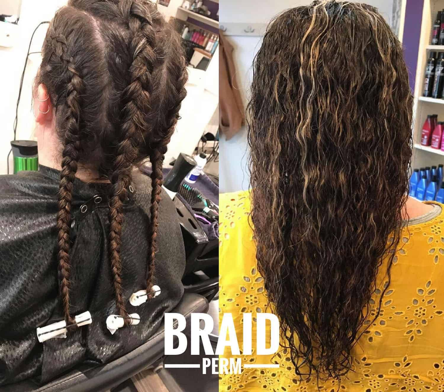 13 Modern Day Perms In 2019 With Before After Pictures Long Hair Perm Permed Hairstyles Types Of Perms