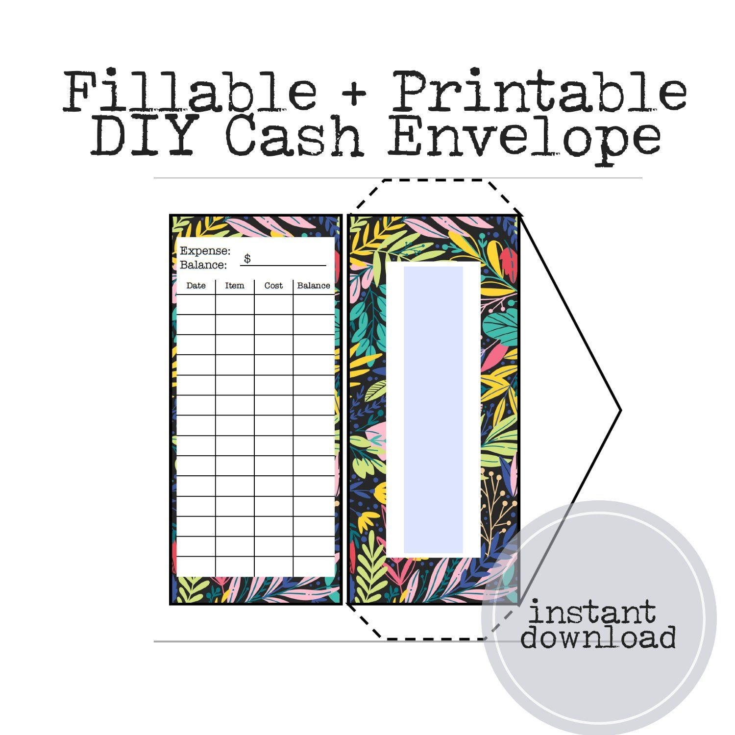 Printable Cash Envelopes Great Way To Stay On Budget Budget