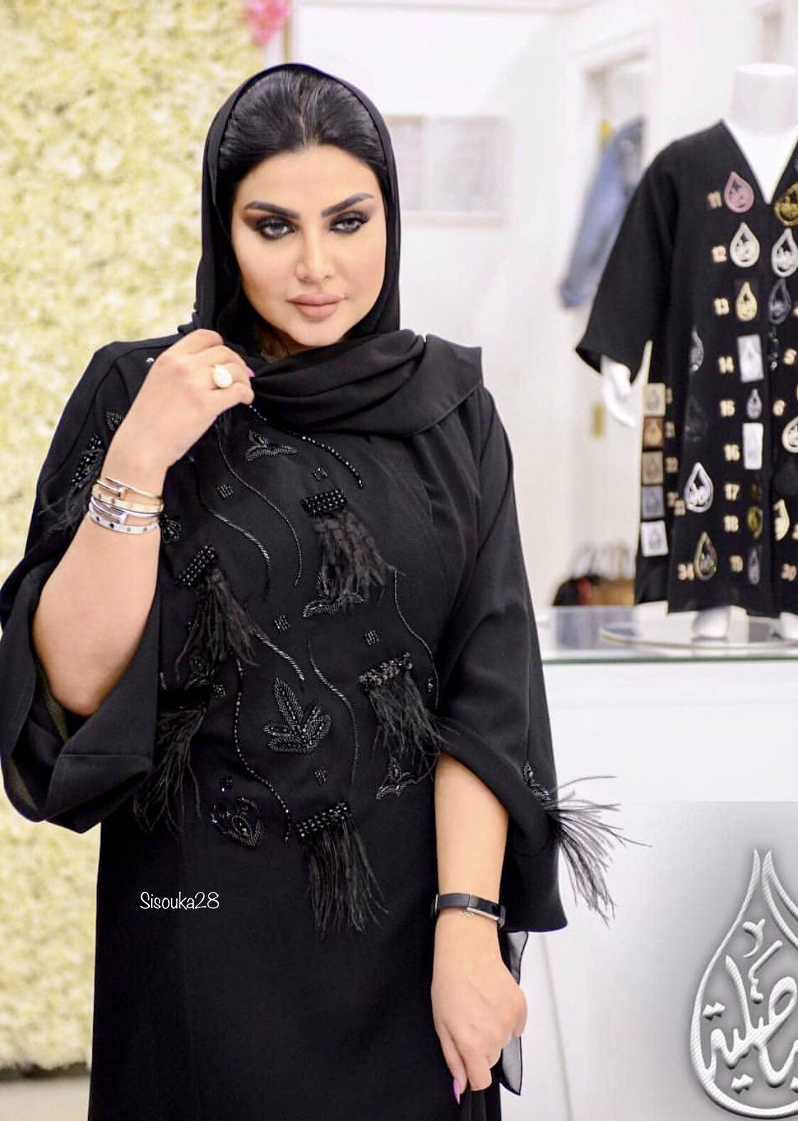 عبايات الفيصلية Abayas Fashion Abaya Fashion Simple Abaya Black