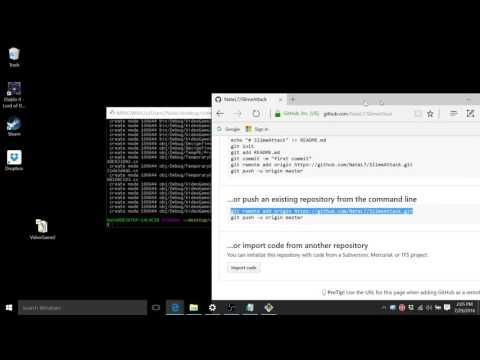 Upload an Existing File to GitHub - YouTube | Tutin