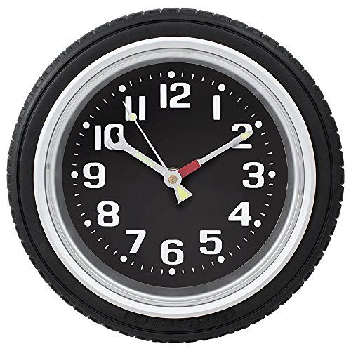Custom Radial Tire Wall Clock Click On The Image For Additional Details Clock Wall Decor Wall Clock Diy Clock Wall
