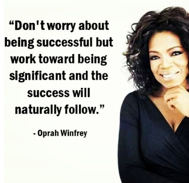 Confidence Quotes Oprah: Pin By Cassie Brockman On What I Say Is...